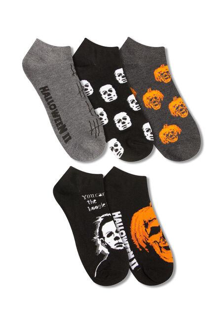 Men's 5 Pair Halloween Socks