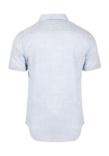 Men's Stripe Textured Shirt, LIGHT BLUE, hi-res