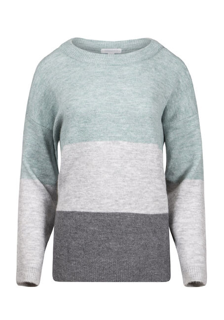 Women's Colour Block Sweater