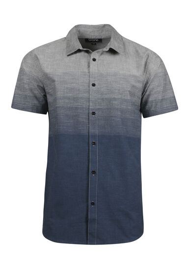 Men's Relaxed Ombre Shirt, TWILIGHT, hi-res