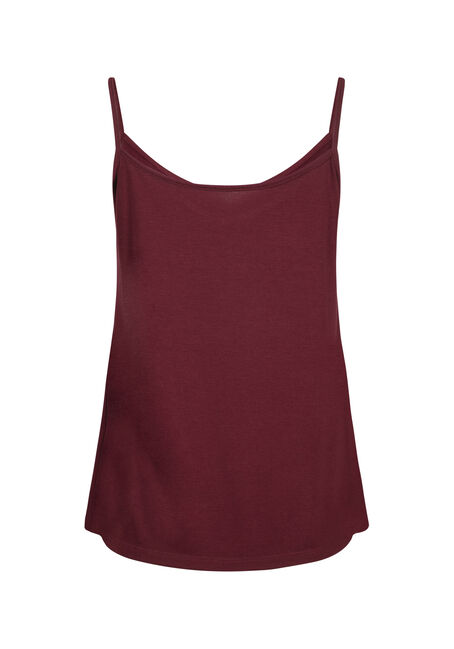 Women's Reversible Relaxed Strappy Tank, BRICK, hi-res