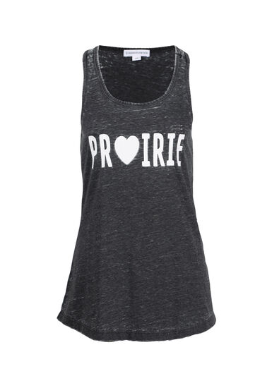 Women's Prairie Heart Tank, BLACK, hi-res