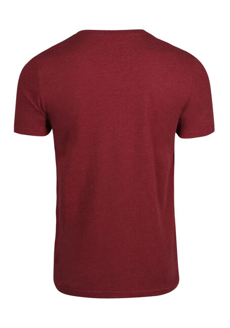 Men's Everyday Crew Neck Tee, CRIMSON, hi-res