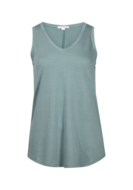 Women's Drapey V-Neck Tank