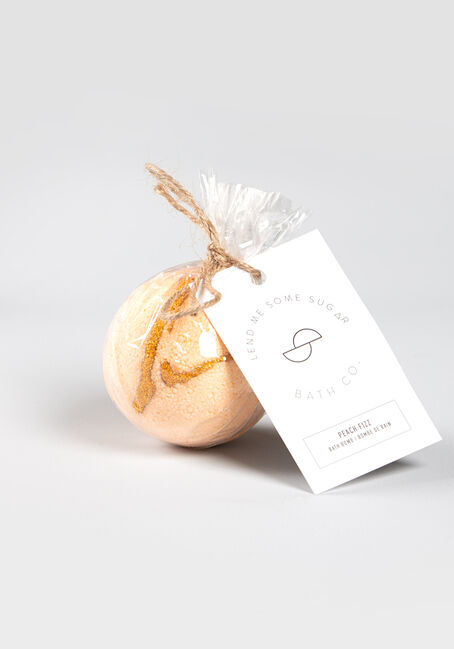 Peach Fizz Bath Bomb