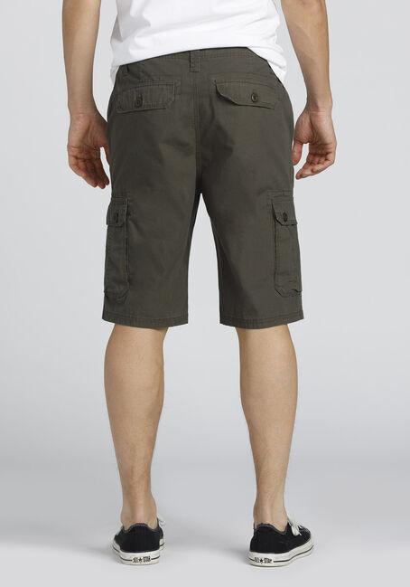 Men's Cargo Short, DARK OLIVE, hi-res