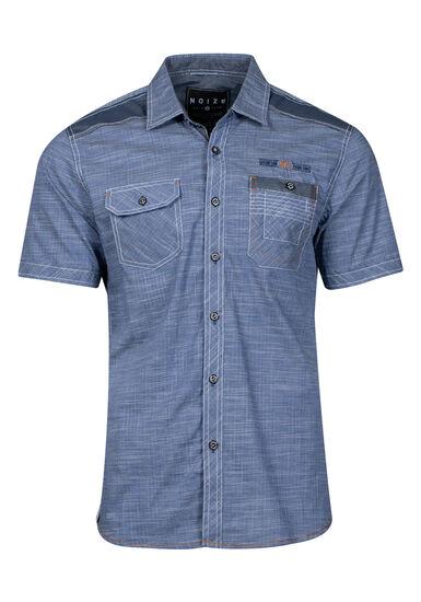 Men's Two Pocket Shirt, NAVY, hi-res