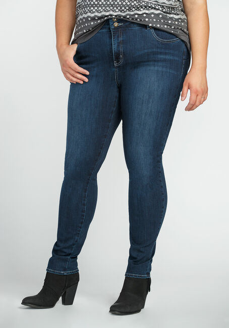 Ladies' Plus Size Skinny Jeans