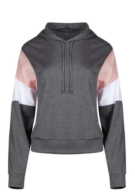 Women's Colour Block Hoodie