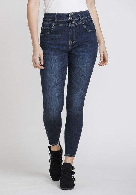 Women's Stacked Waist Skinny Jeans