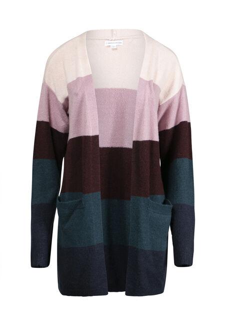 Women's Colour Block Cardigan