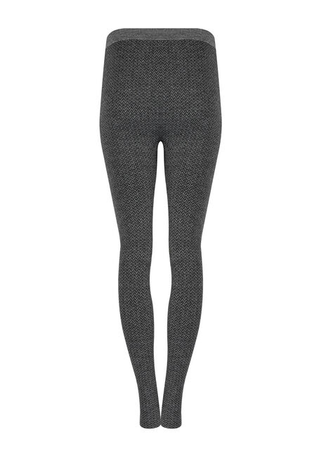 Women's Herringbone Legging, CHARCOAL, hi-res