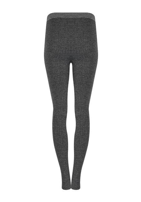 Women's Herringbone Legging, CHARCOAL, hi-res