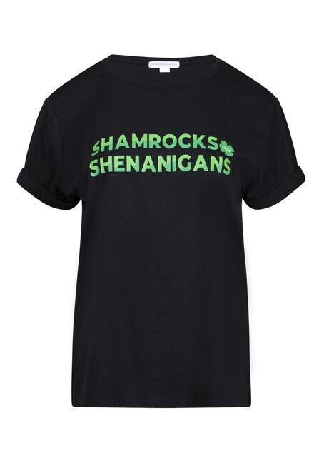 Women's Shamrock Boyfriend Tee