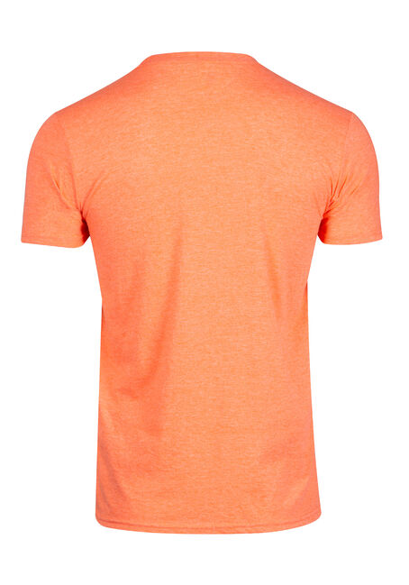 Men's Moose Tee, HEATHER ORANGE, hi-res
