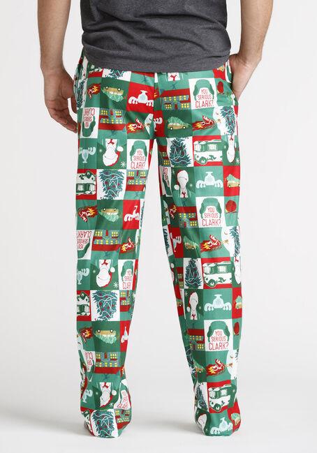 Men's Christmas Vacation Sleep Pant, GREEN, hi-res