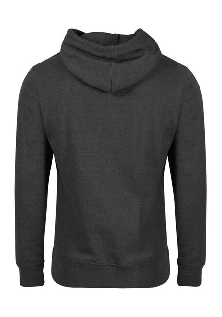 Men's True North Hoodie, HEATHER GREY, hi-res