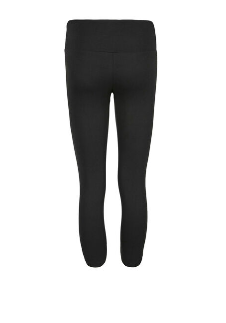 Women's Super Soft High Waist Capri Legging, BLACK, hi-res