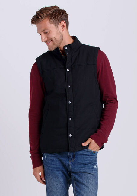 Men's Canvas Vest