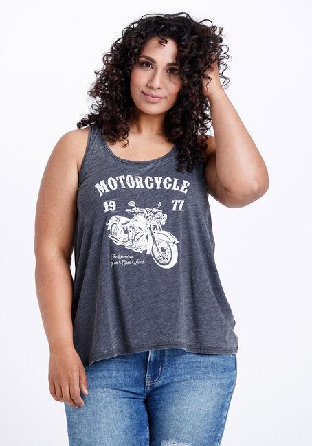 Women's Motorcycle Keyhole Tank
