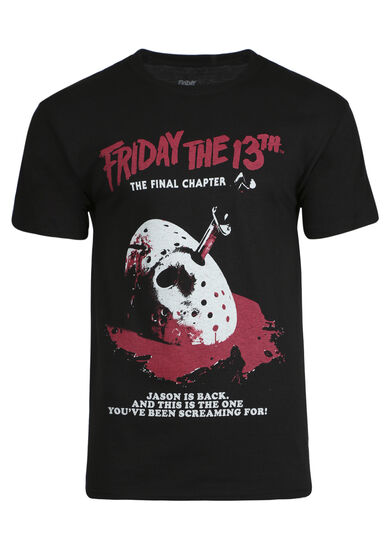 Men's Friday The 13th Tee, BLACK, hi-res