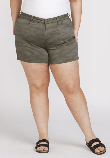 Women's Plus Size Digital Camo Short