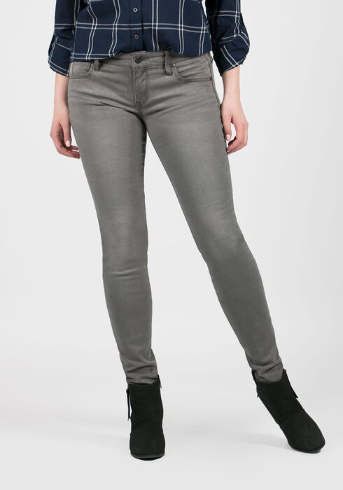 Ladies' Skinny Jeans, GREY, hi-res
