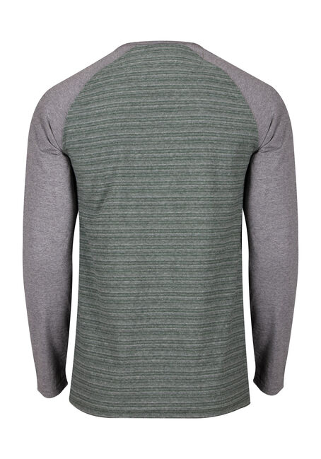 Men's Everyday Henley Tee, MOSS, hi-res