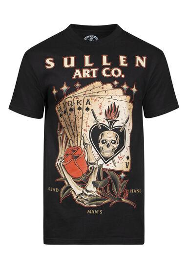 Men's Sullen Cards Graphic Tee, BLACK, hi-res