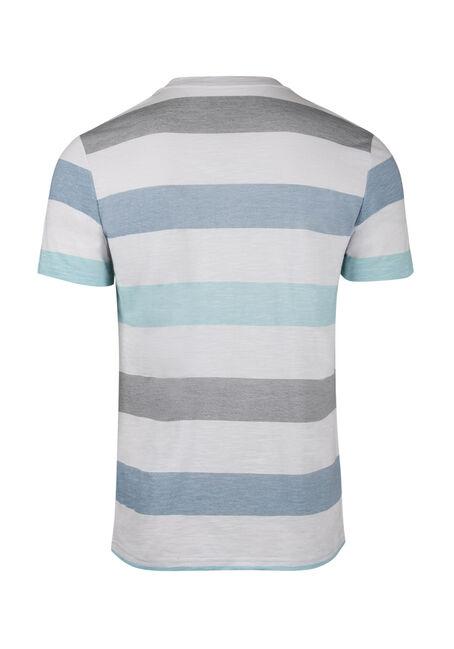Men's Vintage Striped Tee, BLUE, hi-res