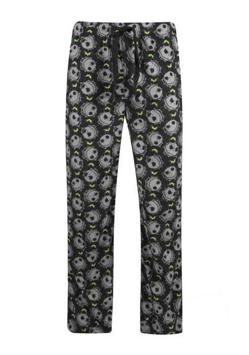 Men's Nightmare Lounge Pant, BLACK, hi-res