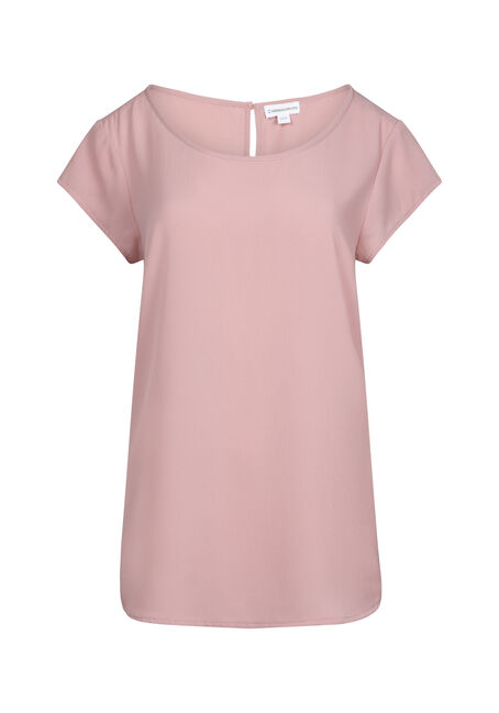 Women's Solid Scoop Top