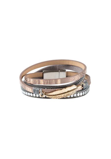 Ladies' Magenetic Wrap Bracelet