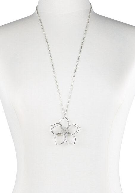 Ladies' Daisy Pendant Necklace