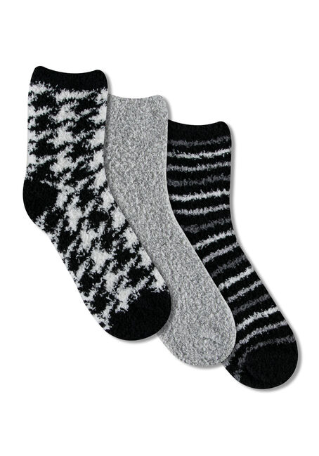 Ladies' 3 Pair Cozy Socks