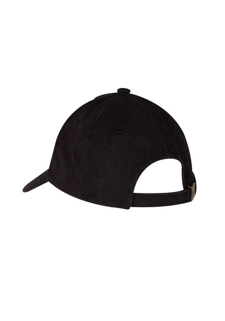 Men's Tour Baseball Hat, BLACK, hi-res