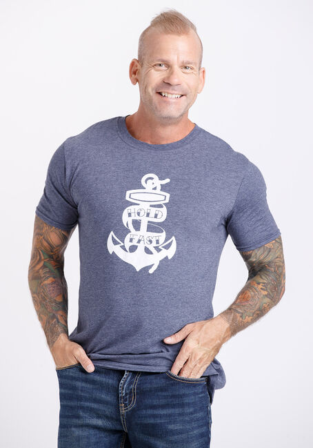 Men's Hold Fast Anchor Tee