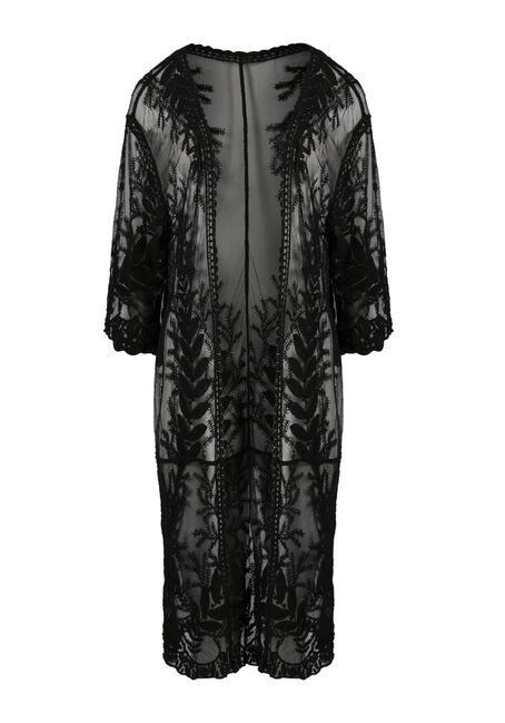 Ladies' Lace Kimono Duster