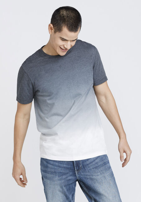 Men's Vintage Ombre Tee, CHARCOAL, hi-res
