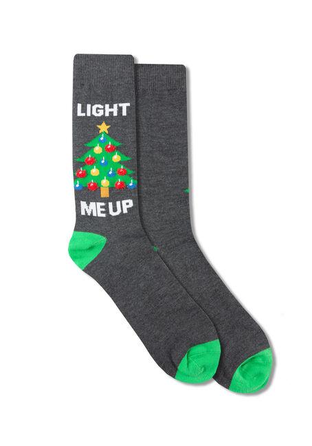 Men's Light Me Up Crew Socks