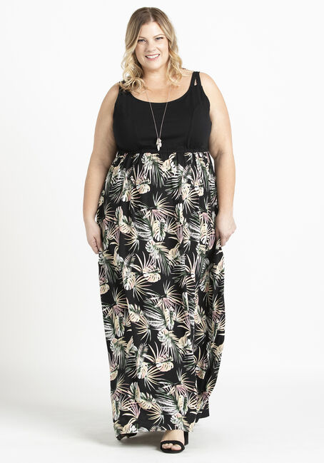 Women's Knit Top Maxi Dress