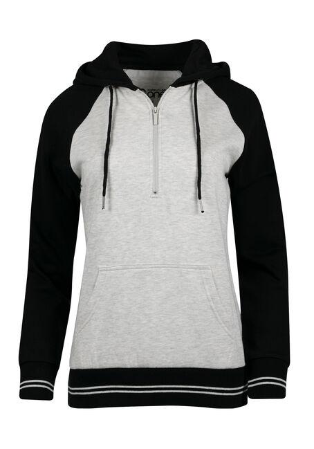 Ladies' Quarter Zip Hoodie