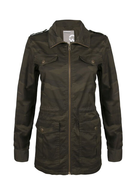 Ladies' Camo Utility Jacket
