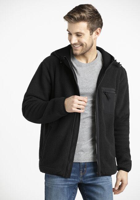 Men's Zip Front Polar Fleece