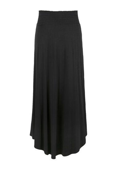 Women's Maxi Skirt, BLACK, hi-res