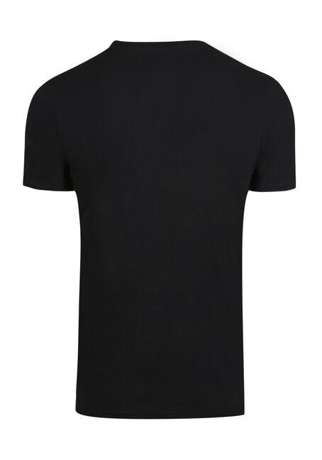 Men's Tuxedo Tee, BLACK, hi-res