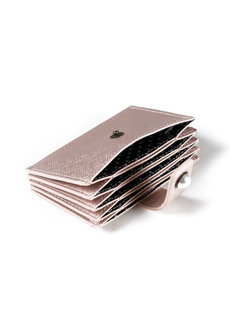 Women's Card Holder, LT PINK, hi-res