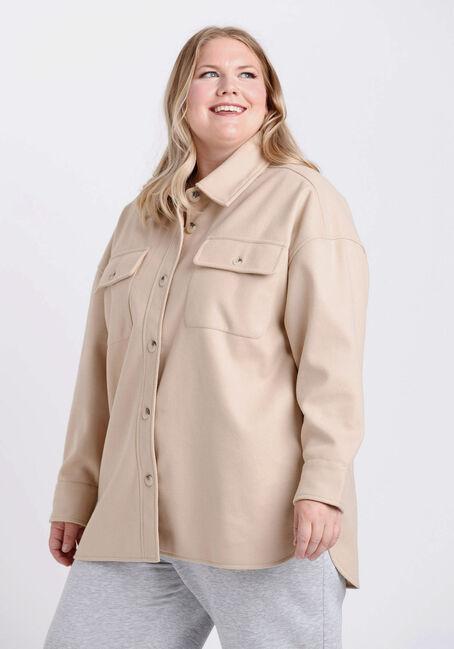 Women's Button Front Shacket