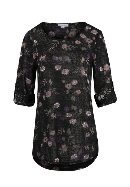 Ladies' Floral Tunic Tee