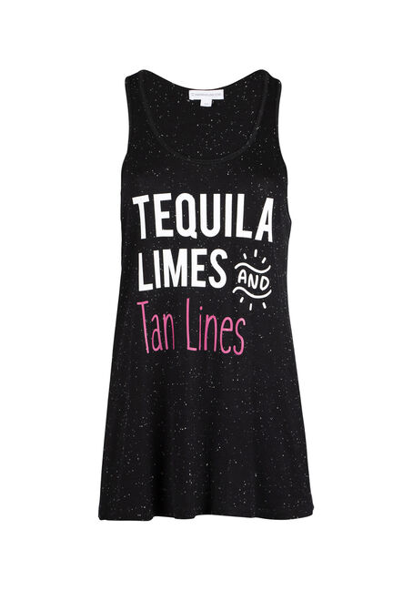 Ladies' Tequila Lime Tan Lines Tank